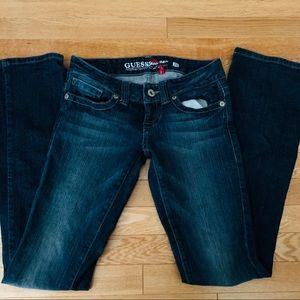 Guess jeans size 26 classic straight leg